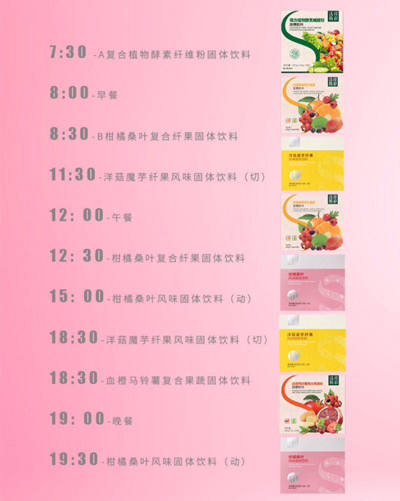 TST减肥产品吃法