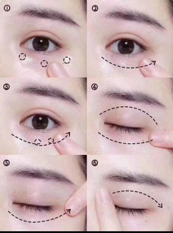 TST眼霜的使用手法